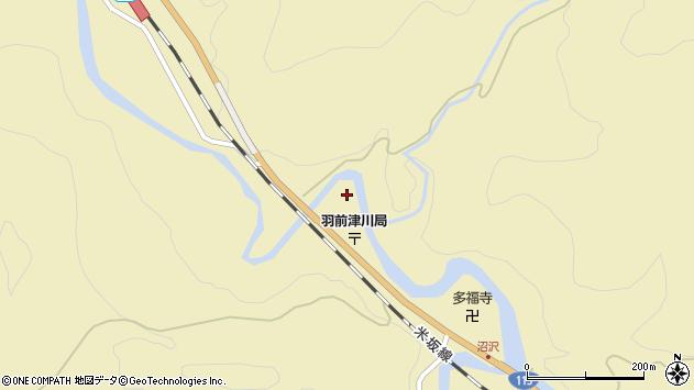 山形県西置賜郡小国町沼沢753周辺の地図