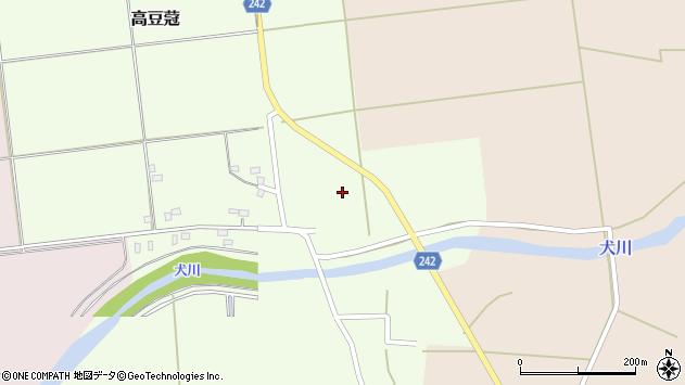 山形県東置賜郡川西町高豆蒄1314周辺の地図
