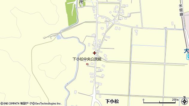 山形県東置賜郡川西町下小松668周辺の地図