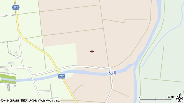 山形県東置賜郡川西町黒川1817周辺の地図