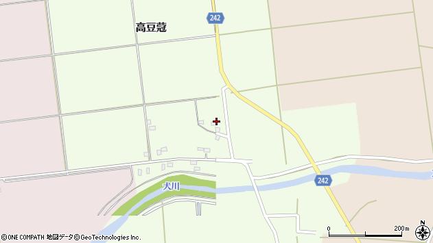 山形県東置賜郡川西町高豆蒄1479周辺の地図
