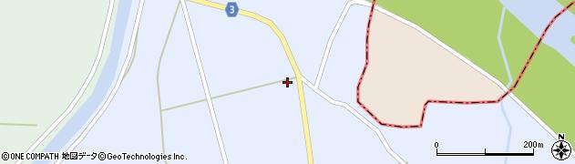 山形県東置賜郡川西町洲島7443周辺の地図