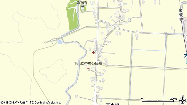 山形県東置賜郡川西町下小松666周辺の地図