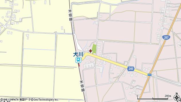 山形県東置賜郡川西町小松1775周辺の地図