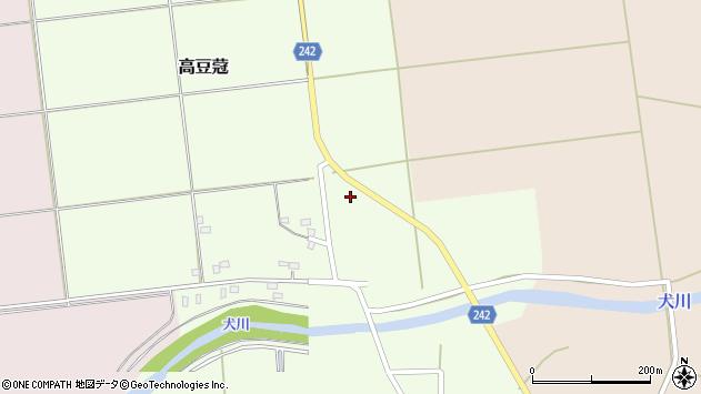 山形県東置賜郡川西町高豆蒄979周辺の地図