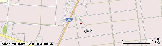 山形県東置賜郡川西町小松1015周辺の地図