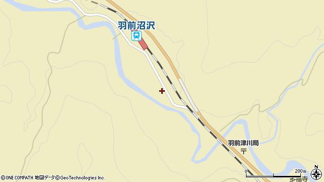 山形県西置賜郡小国町沼沢824周辺の地図