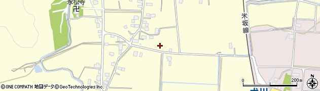 山形県東置賜郡川西町下小松1048周辺の地図