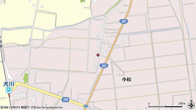 山形県東置賜郡川西町小松1640周辺の地図