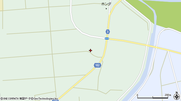 山形県東置賜郡川西町高山3506周辺の地図