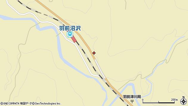 山形県西置賜郡小国町沼沢829周辺の地図