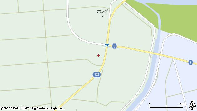 山形県東置賜郡川西町高山3493周辺の地図
