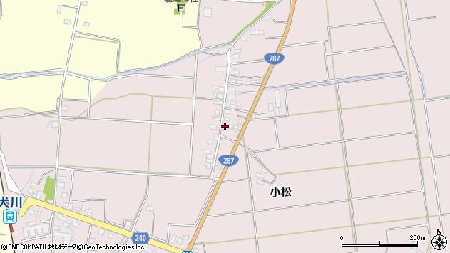 山形県東置賜郡川西町小松1137周辺の地図