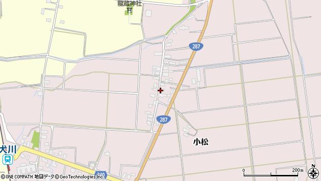 山形県東置賜郡川西町小松1101周辺の地図
