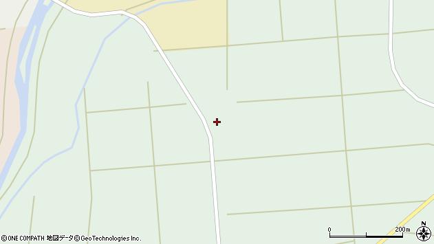 山形県東置賜郡川西町高山沼田周辺の地図