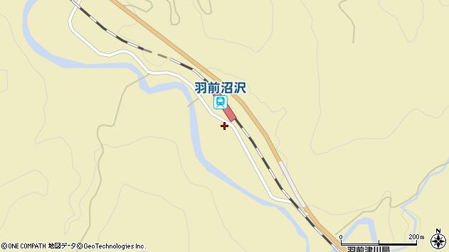 山形県西置賜郡小国町沼沢854周辺の地図