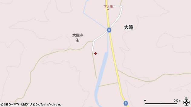 山形県西置賜郡小国町大滝318周辺の地図