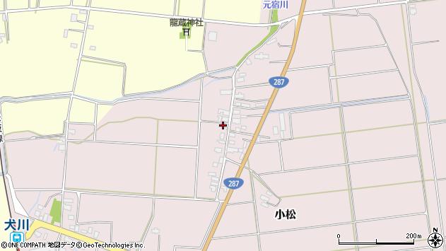 山形県東置賜郡川西町小松1645周辺の地図