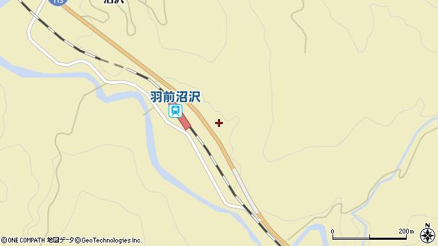 山形県西置賜郡小国町沼沢848周辺の地図