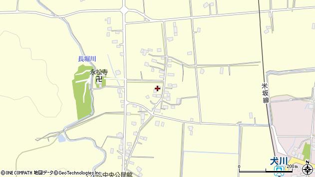 山形県東置賜郡川西町下小松944周辺の地図