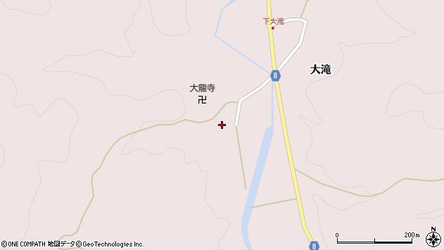 山形県西置賜郡小国町大滝341周辺の地図