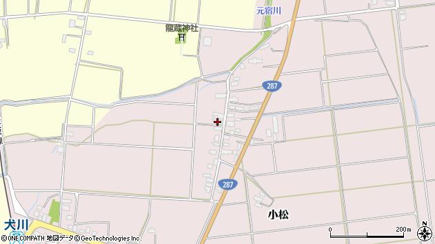 山形県東置賜郡川西町小松1455周辺の地図