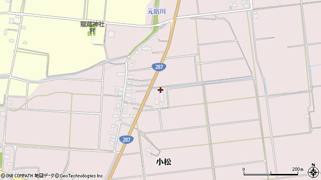 山形県東置賜郡川西町小松1073周辺の地図