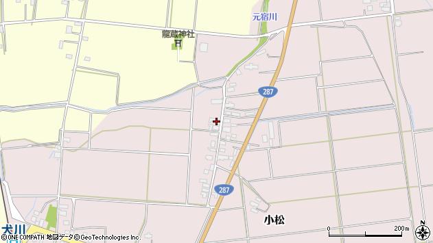 山形県東置賜郡川西町小松1456周辺の地図