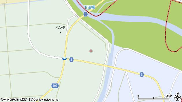 山形県東置賜郡川西町高山3854周辺の地図