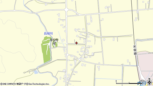山形県東置賜郡川西町下小松958周辺の地図
