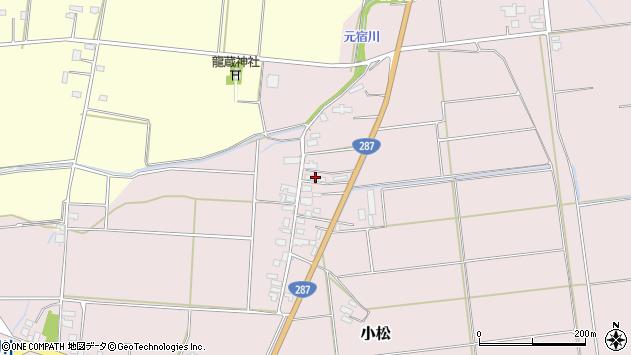 山形県東置賜郡川西町小松1154周辺の地図