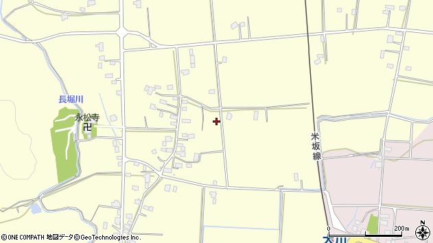 山形県東置賜郡川西町下小松1080周辺の地図