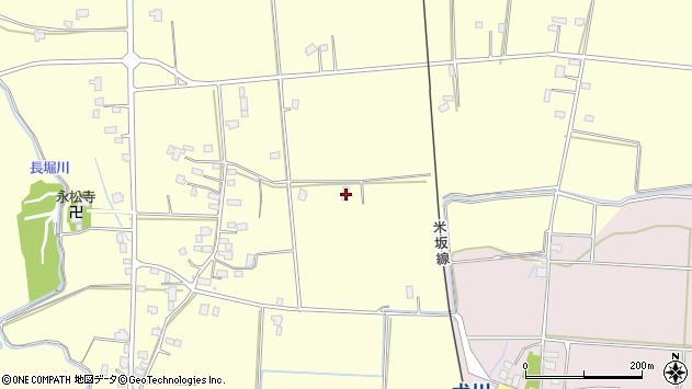 山形県東置賜郡川西町下小松1040周辺の地図