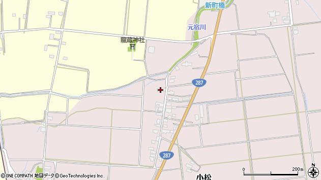 山形県東置賜郡川西町小松1457周辺の地図