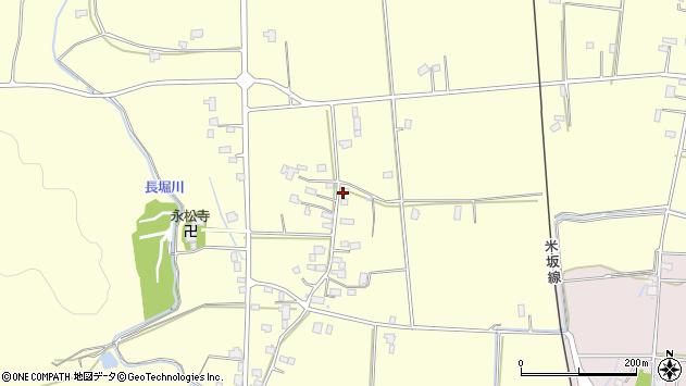 山形県東置賜郡川西町下小松1090周辺の地図