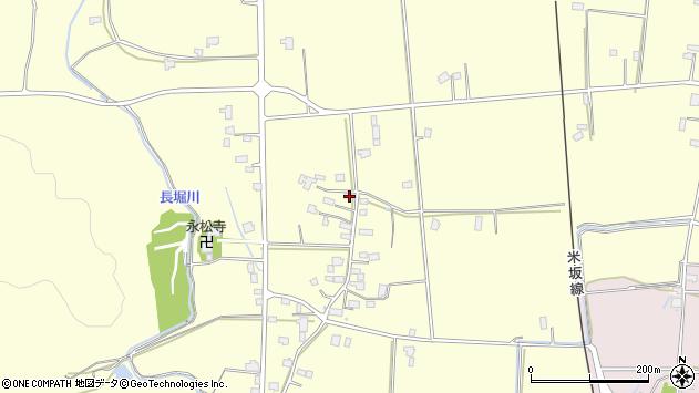 山形県東置賜郡川西町下小松1299周辺の地図