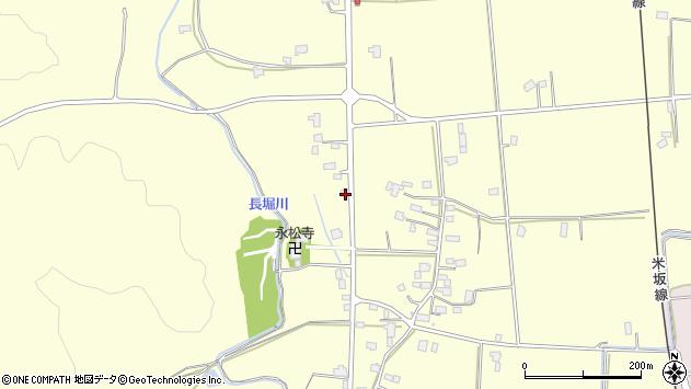 山形県東置賜郡川西町下小松1316周辺の地図
