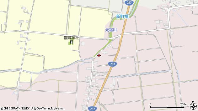 山形県東置賜郡川西町小松1181周辺の地図