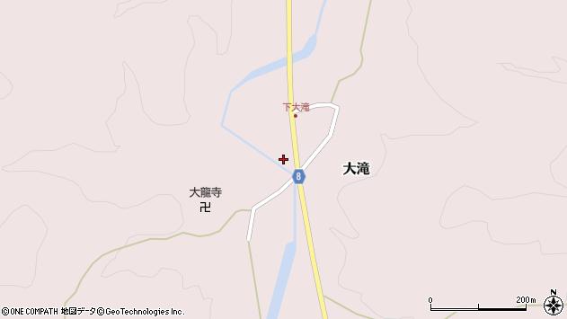 山形県西置賜郡小国町大滝475周辺の地図