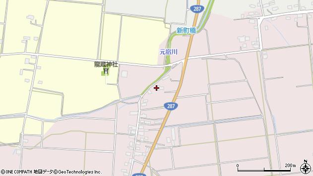 山形県東置賜郡川西町小松1182周辺の地図