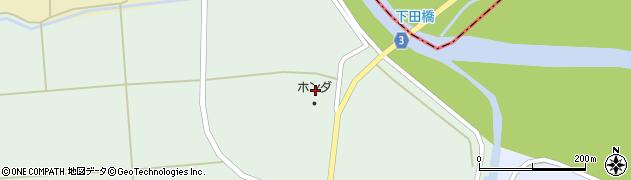 山形県東置賜郡川西町高山2468周辺の地図