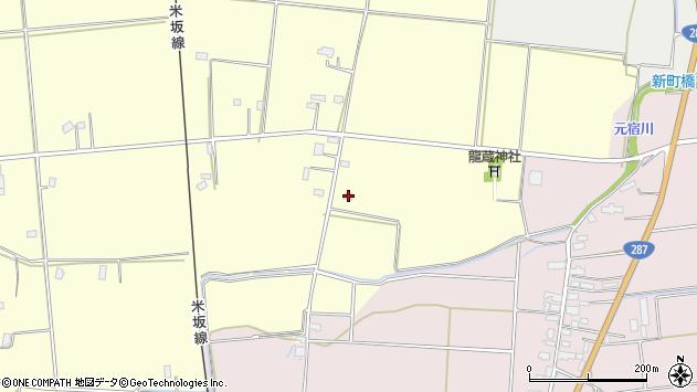 山形県東置賜郡川西町下小松1192周辺の地図