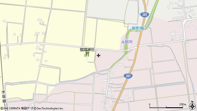 山形県東置賜郡川西町小松3433周辺の地図