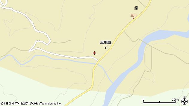 山形県西置賜郡小国町玉川30周辺の地図