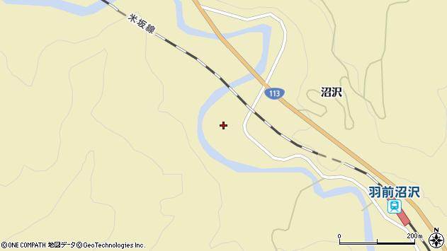 山形県西置賜郡小国町沼沢911周辺の地図