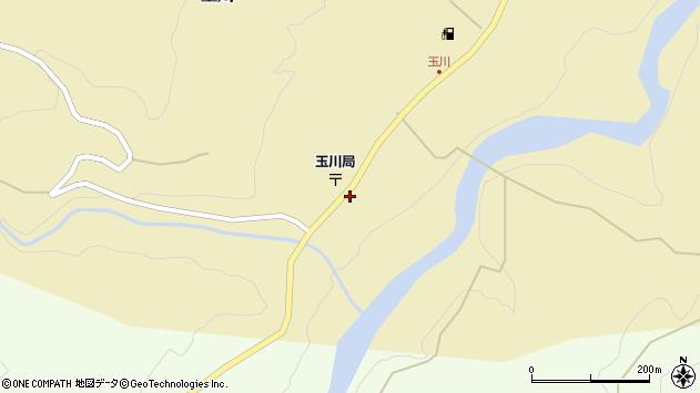 山形県西置賜郡小国町玉川71周辺の地図