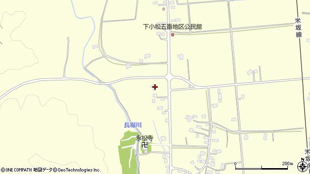 山形県東置賜郡川西町下小松1334周辺の地図