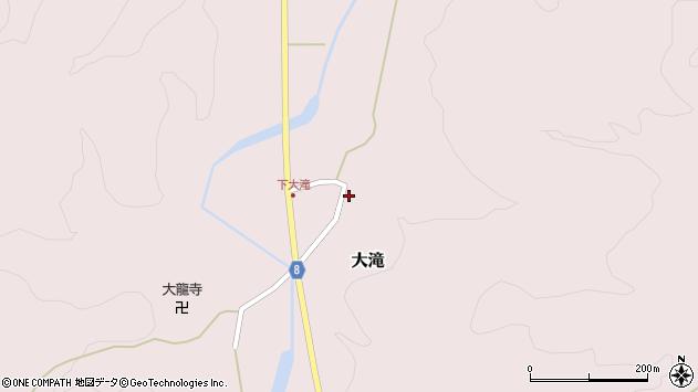 山形県西置賜郡小国町大滝418周辺の地図
