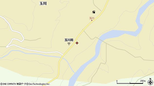 山形県西置賜郡小国町玉川40周辺の地図