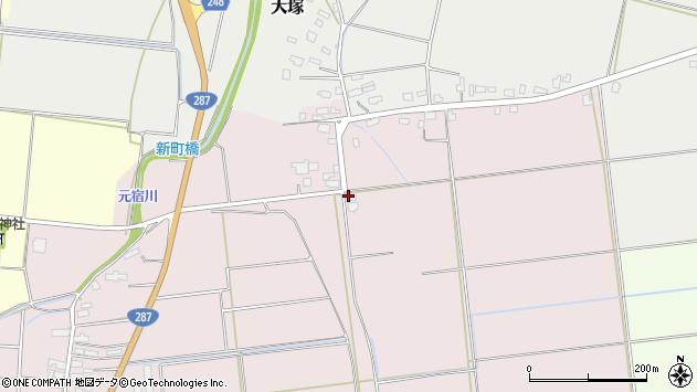 山形県東置賜郡川西町小松68周辺の地図